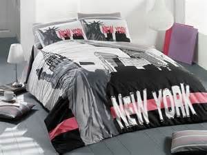 100 cotton 3pcs quot new york city quot single twin quilt duvet
