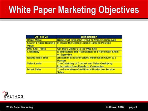 marketing white paper template papers in marketing
