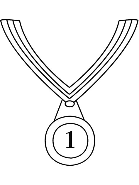 Medal Coloring Page Olympic Medal Coloring Page Coloring Home by Medal Coloring Page