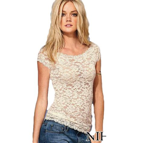Frii Top Blouse White new lace blouse casual tops for blouses shirts black white bodycon