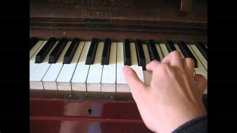 tutorial piano zombie black ops zombie theme song quot damned quot piano tutorial youtube