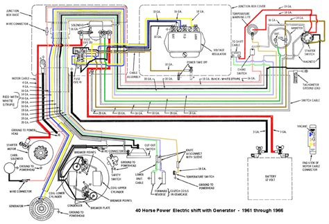 Wiring Diagram 90 Hp Mercury Outboard Mercury Outboard