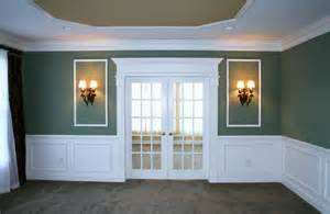 Decorative Wood Molding Trim Wainscoting Installation By Deacon Home Enhancement