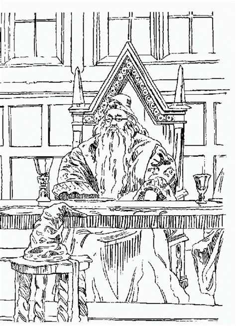 harry potter coloring pages dumbledore harry potter and the philosophers free printable