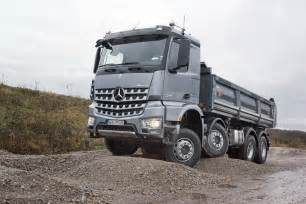 Mercedes Truck Pictures Mercedes New Mercedes Arocs Construction