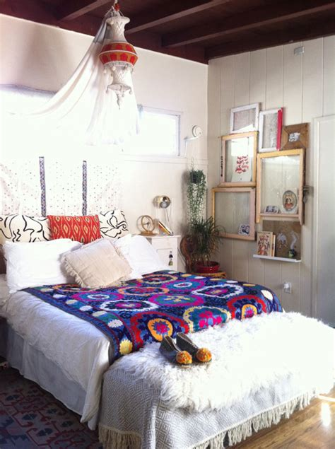 Bohemian Room Decor 12 Bohemian Bedrooms Filled With Decor And Plenty Of Color Photos Huffpost