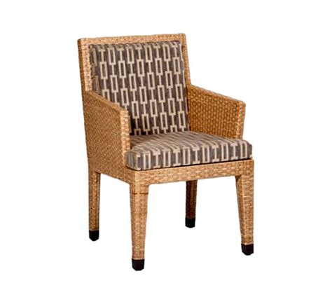 Indoor Wicker Furniture by Basel Dining Arm Chair Wicker Material Indoor