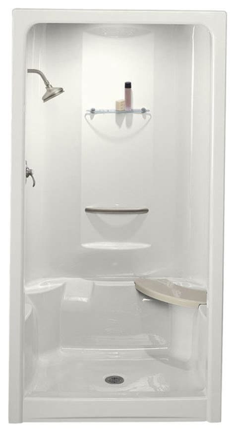 Kohler Shower Stalls by Kohler K 1687 Sonata 48 Quot One Shower Module With