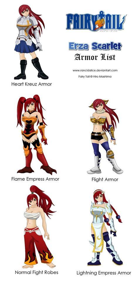 Erza Scarlet Outfits | erza scarlet armor download erza ... Erza Scarlet Armor Types