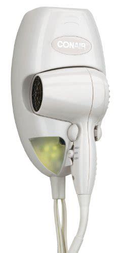 Conair You Hair Dryer Reviews conair 1600 watt wall mount hair dryer with led nightlight