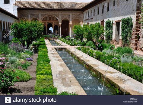 Granada Gardens by Spain Andalucia Granada Water Gardens In The