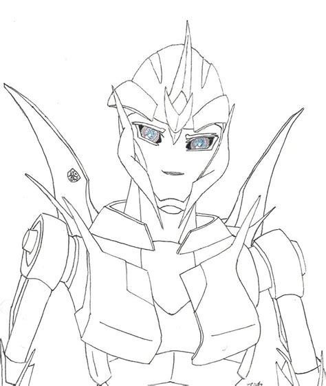 girl transformer coloring page transformers prime arcee by mightwork15 on deviantart