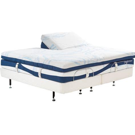 comfortaire ultimate series  adjustable air  pc box top split top mattress mattresses