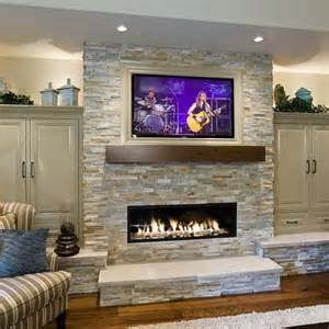 fireplace and tv home decor unfinished basement ideas