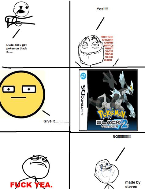 Lol Meme Pics - pokemon black 2 lol meme part 1 2 by thezeldafan22 on