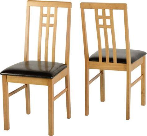 vienna dining chair single medium oakbrown buy