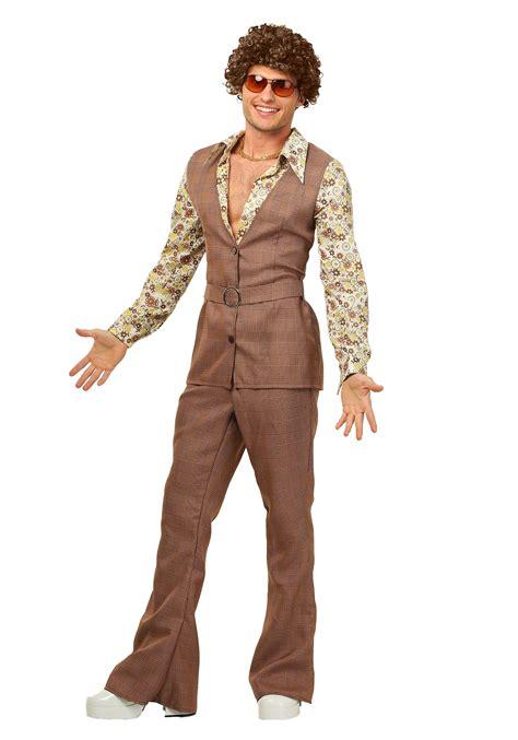 halloween costumes men s 70 s vest costume