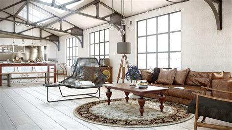 Rustic Industrial Living Room by Industrial Living Room Ideas Modern House