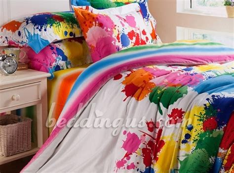 paint splatter comforter paint splatter bedding for lauren s room caroline