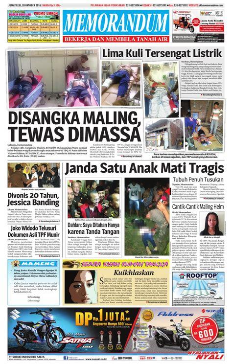 memorandum edisi 28 oktober 2016 by memorandum issuu