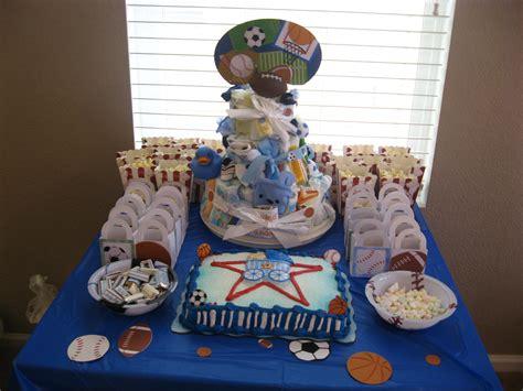 Sports Baby Shower by Boys Baby Shower Sports Theme Ideas For Becca S Baby