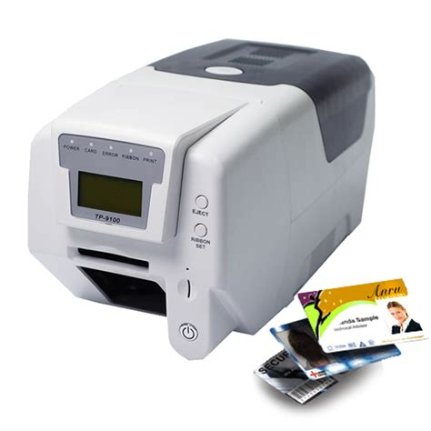 card printer id card printers plastic card printer tp9100