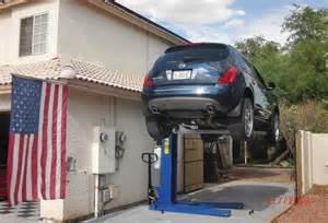 high quality home garage car lift 6 portable car lifts