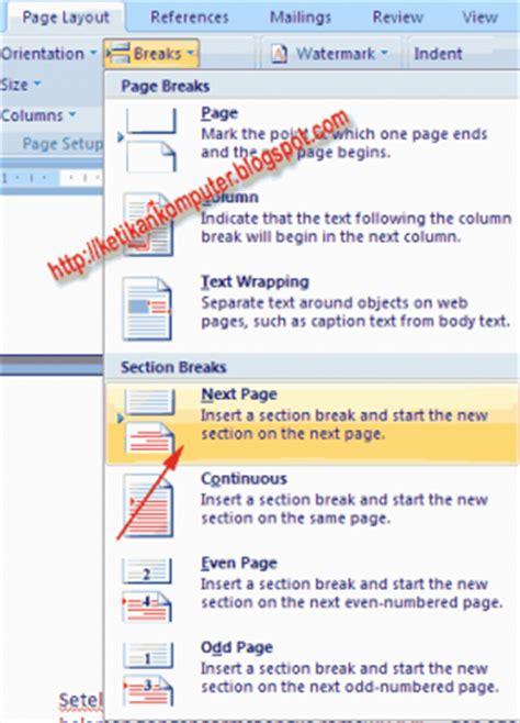 membuat halaman word berwarna cara membuat halaman romawi dan angka dalam satu file di