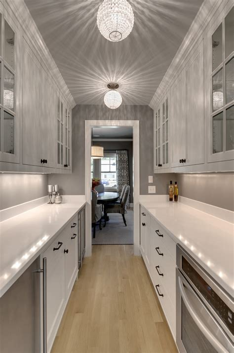 Butler pantry design kitchen traditional with light