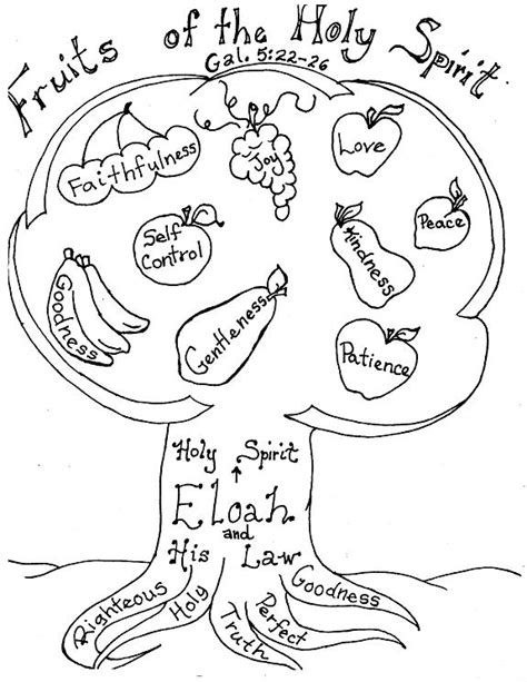 fruit of the spirit coloring pages free fruit of spirit maze coloring pages