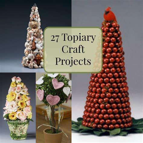 topiary craft projects favecraftscom