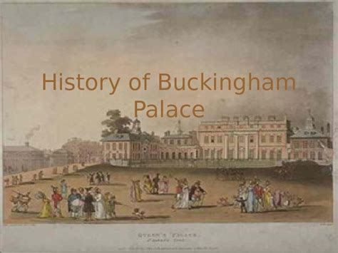 buckingham palace facts buckingham palace history of buckingham palace