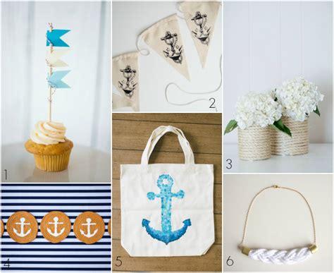 nautical diy projects diy wednesday let s get nautical bajan wed bajan wed