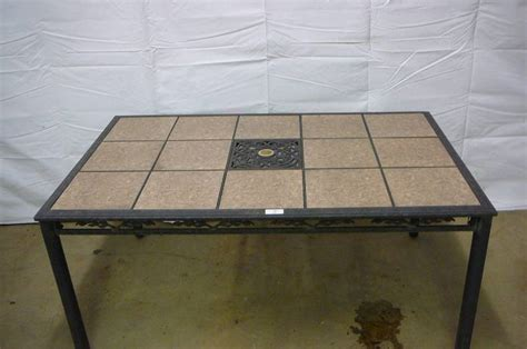 patio table tile inserts moving sale 360 in alexandria minnesota by kan do auctions