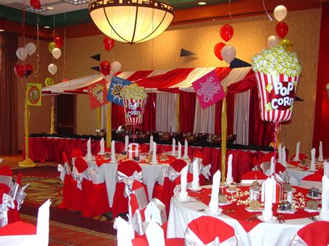 themed events ideas carnival or circus theme decor 16th birthday
