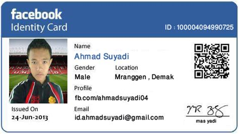 cara membuat id card barcode cara membuat id card atau ktp facebook yobertparai blog