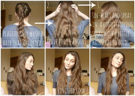 heatless wavy hairstyles heatless waves tutorials and waves on pinterest