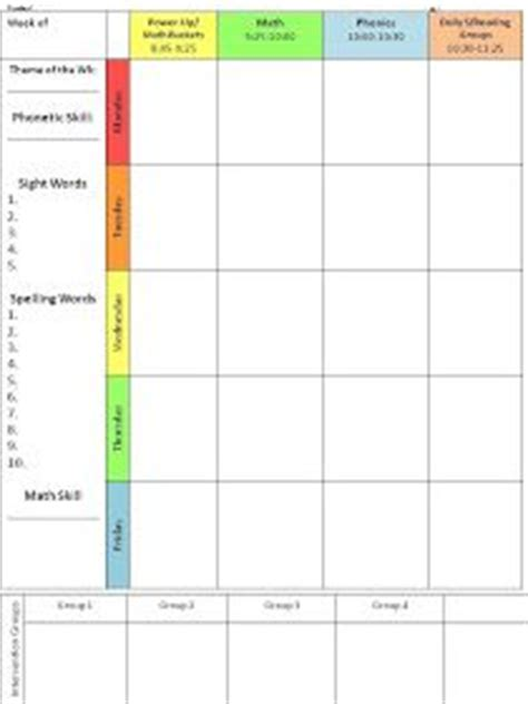 lesson plan template mcgill 17 best ideas about lesson planning templates on pinterest