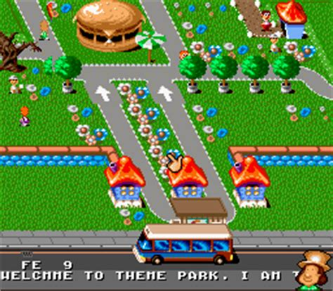 theme park rom theme park download roms super nintendo