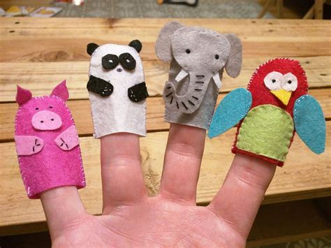 How To Make Handmade Puppets - finger puppet