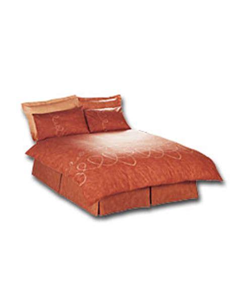 terracotta bed linen pico collection king size duvet cover set terracotta