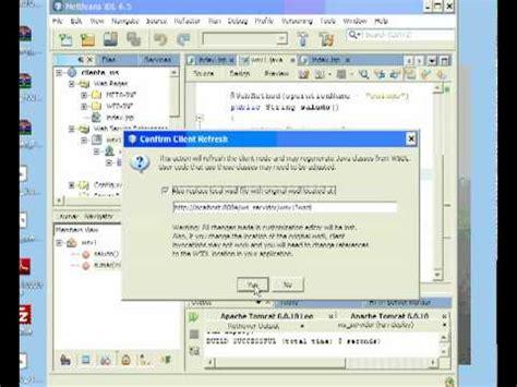 tutorial netbeans web service tutorial web services con netbeans 6 5 parametros en el