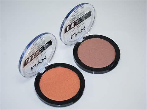 Nyx Illuminating Powder nyx duo chromatic illuminating powder review swatches