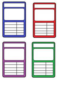 top trumps card templates by katiebell1986 teaching