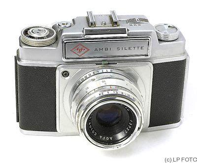 Agfa Ambi Silette Price Guide Estimate A Camera Value