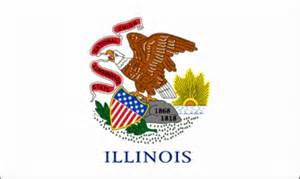 of illinois colors illinois flag