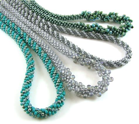 for beading kumihimo beaded necklace patterns downloadable spoilt