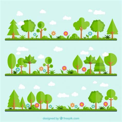 Garden Vector Free Green Garden Vector Premium