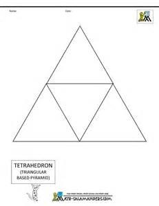 3d geometric shapes nets