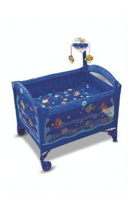 fisher price aquarium fish baby play yard pen portable
